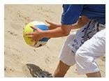 Volleyball, Strand, Sand